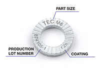 TEC Series Wedge Locking Washers - 5
